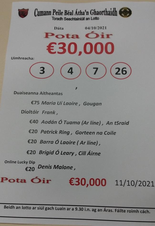 lotto 30.0